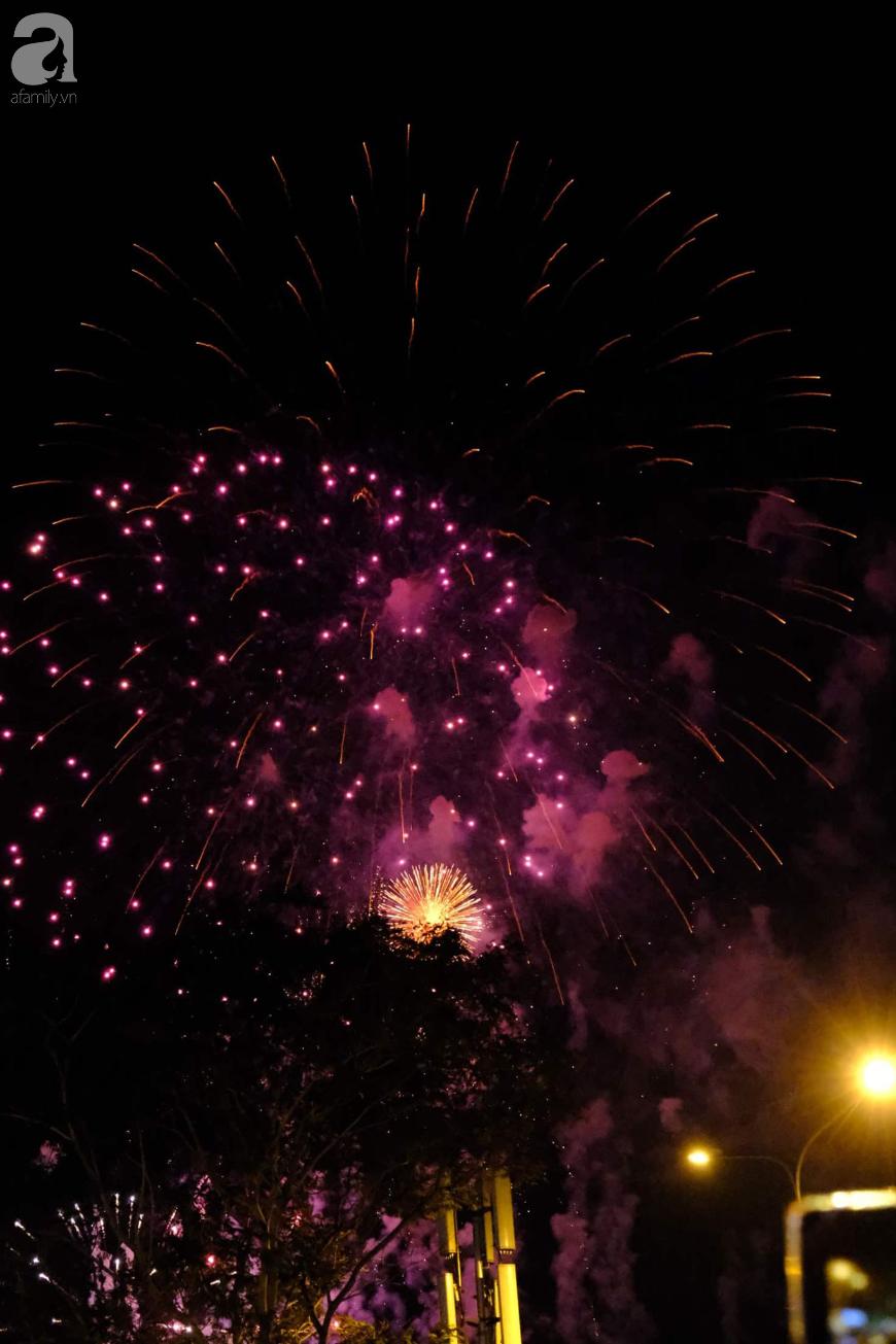 Người dân TPHCM mãn nhãn với màn pháo hoa rực rỡ đón Thập kỷ mới - Ảnh 1.