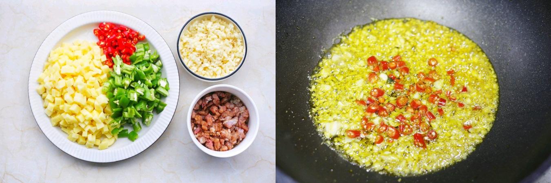 Bữa tối tôi chỉ nấu mỗi cơm với thịt xào khoai tây mà chồng con khen ngon không dứt - Ảnh 1.
