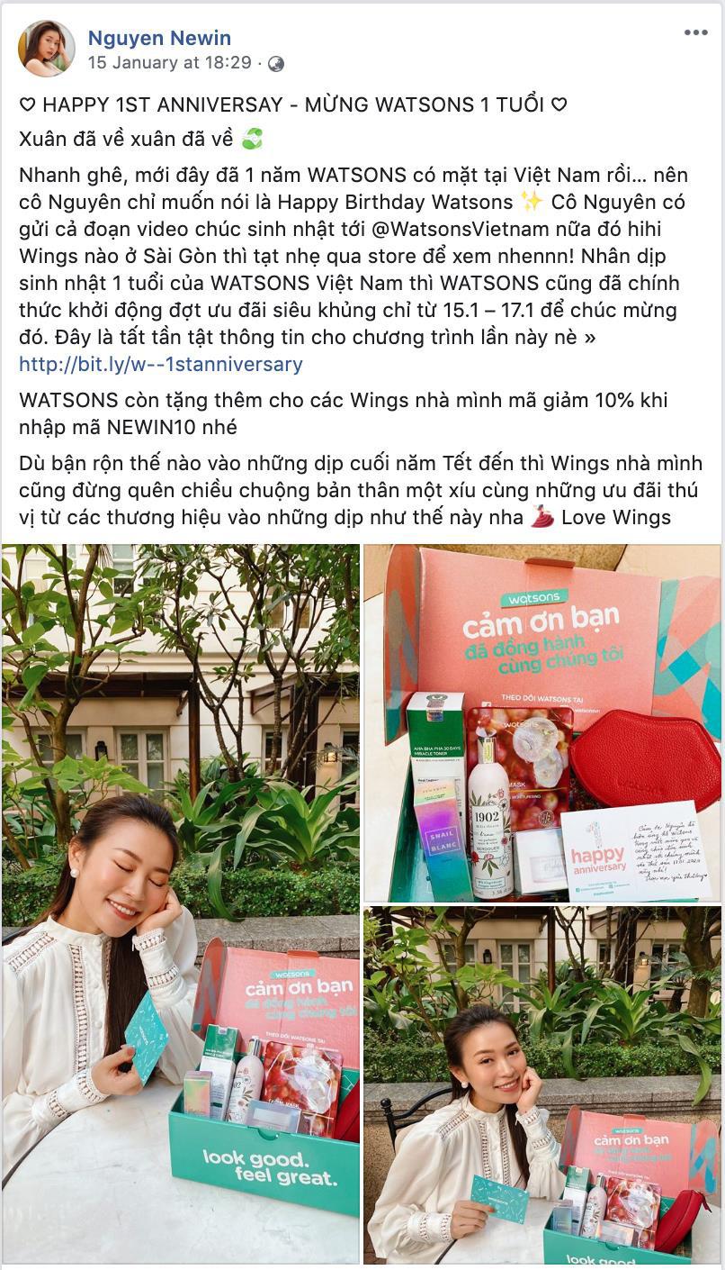 Kỉ niệm 1 năm có mặt tại Việt Nam, Watsons tri ân khách hàng với Private Sales xịn sò - Ảnh 3.