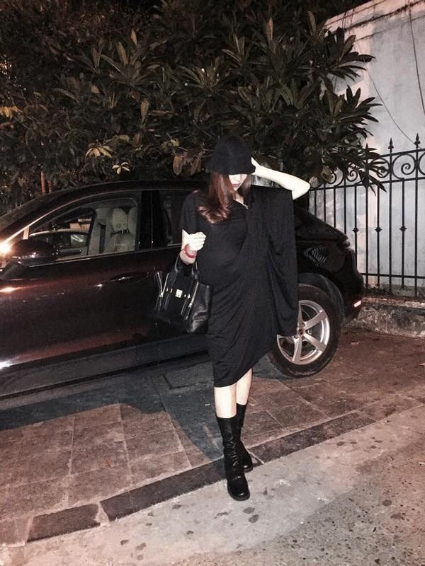 Bụng bầu vượt mặt, hot girl Việt vẫn tự tin khoe dáng với đồ sexy - Ảnh 7.