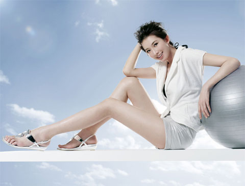 Muốn có chân thon, đùi đẹp: không hề khó