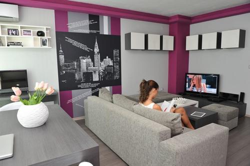 20120315afamilyNDcanhosangtrong 1 229db Thiết kế sang trọng, cực chất cho một căn hộ nhỏ