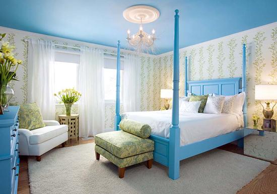 Kết quả hình ảnh cho giường ngủ sơn màu