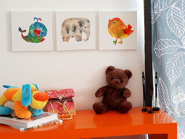 Kết quả hình ảnh cho khung tranh treo tường cho bé