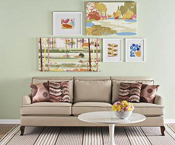 120723afamilyNDsapxepnghethuat 3 3c0fd Bí quyết để bạn sắp xếp không gian nhà thành tác phẩm nghệ thuật