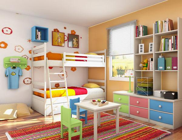 Cải tạo phòng ngủ nhỏ của bé cho thoáng, rộng