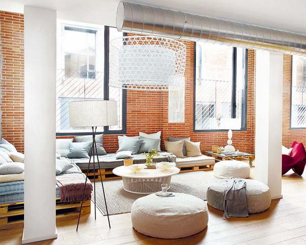 Phong cách tự nhiên của căn hộ 80 mét vuông