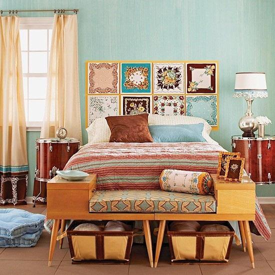 5 cách làm đẹp nhà đơn giản với khăn quàng