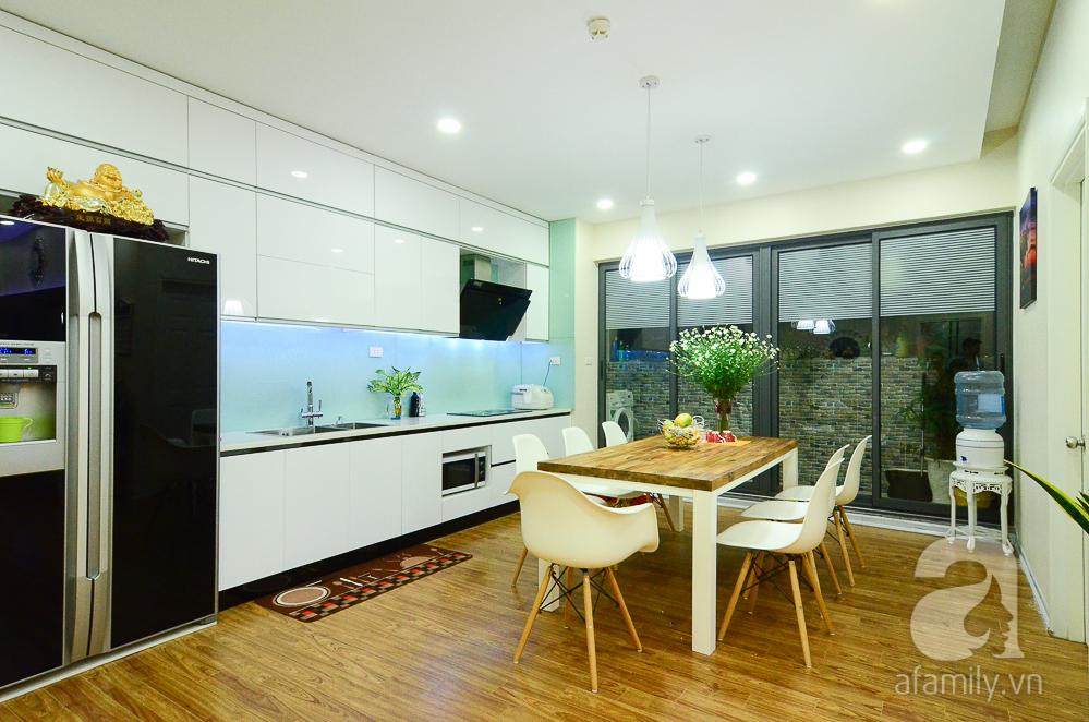 Image result for trang trí phòng bếp chung cư bằng cách thêm màu sắc