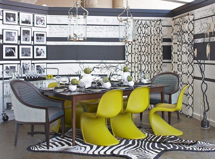 goi y trang tri phong an voi gam mau vangxam 02df2529f6 Gợi ý cho bạn những mẹo trang trí phòng ăn với gam màu vàng   xám đẹp lạ, ấn tượng