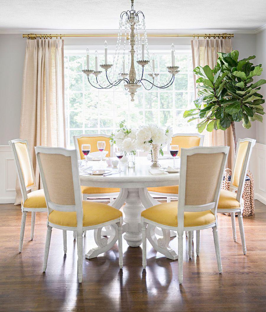 goi y trang tri phong an voi gam mau vangxam 3f408c40c1 Gợi ý cho bạn những mẹo trang trí phòng ăn với gam màu vàng   xám đẹp lạ, ấn tượng