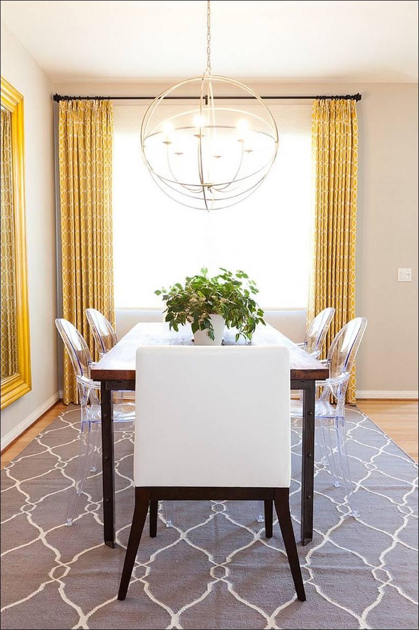 goi y trang tri phong an voi gam mau vangxam 9028ff24a1 Gợi ý cho bạn những mẹo trang trí phòng ăn với gam màu vàng   xám đẹp lạ, ấn tượng