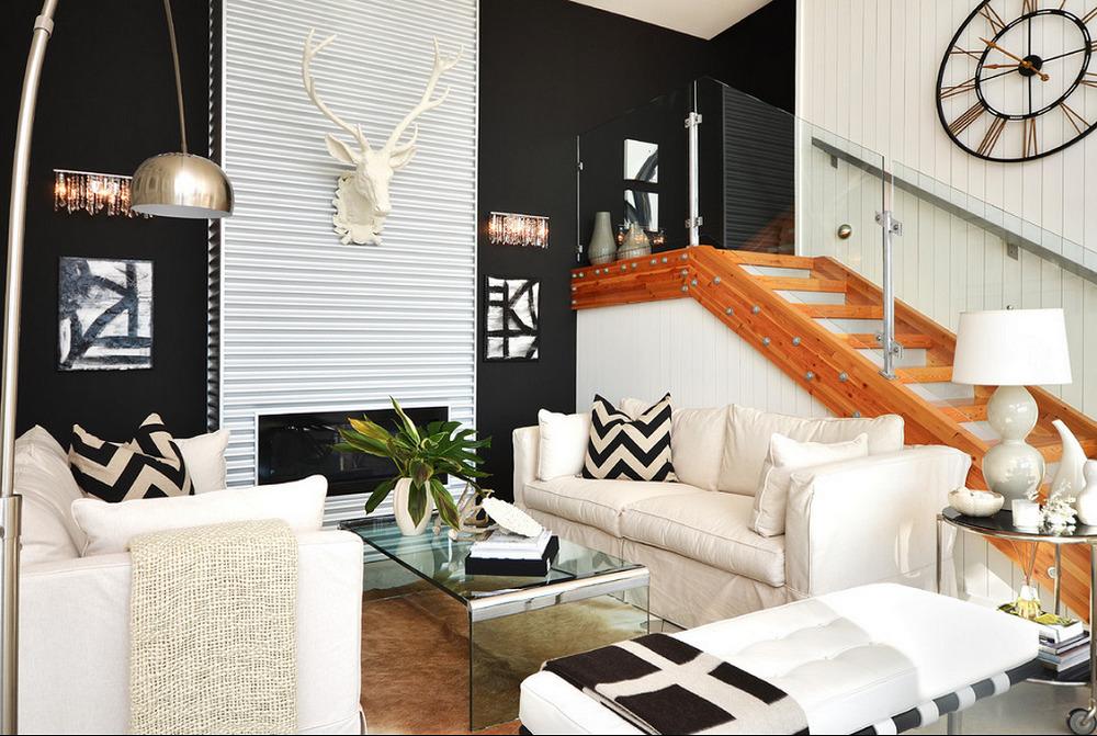 Những xu hướng trang trí tường phòng khách