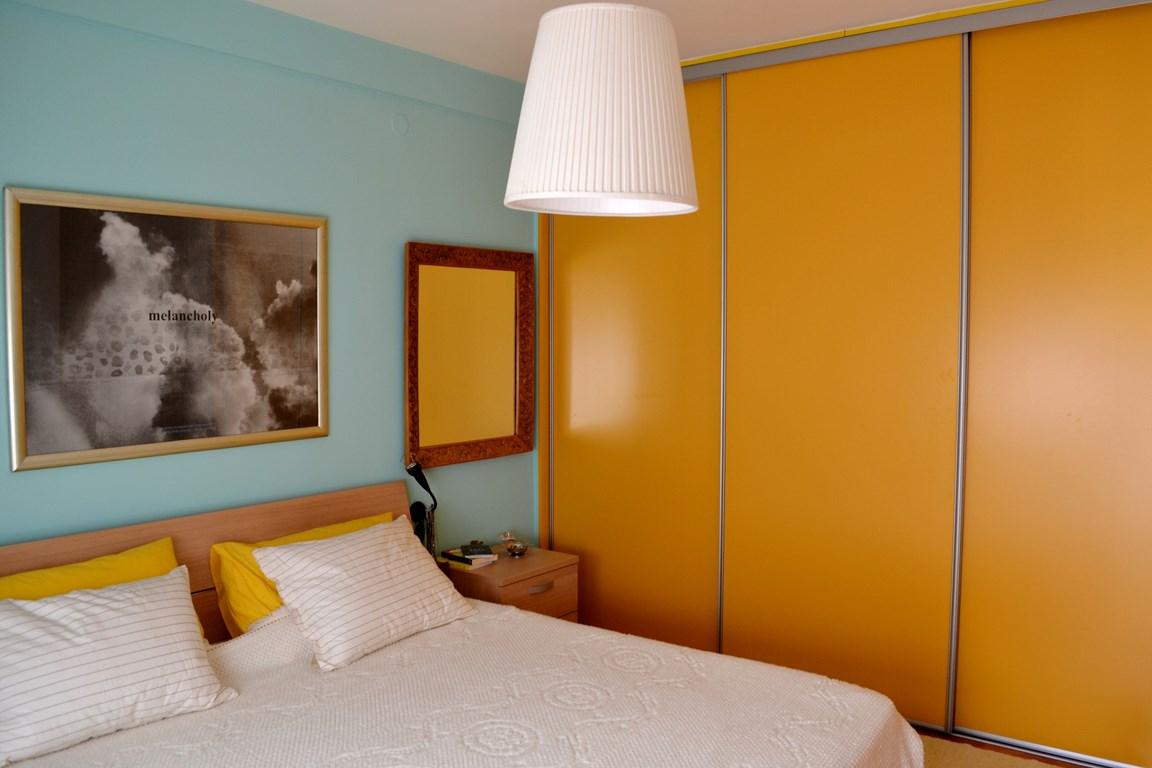 xuc cam khong ngo chi nho nhung phong ngu day mau sac 34fc37ec2b Xuân tới với những không gian phòng ngủ đầy màu sắc