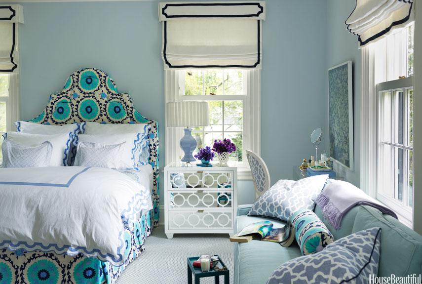 xuc cam khong ngo chi nho nhung phong ngu day mau sac 750c1f09bf Xuân tới với những không gian phòng ngủ đầy màu sắc