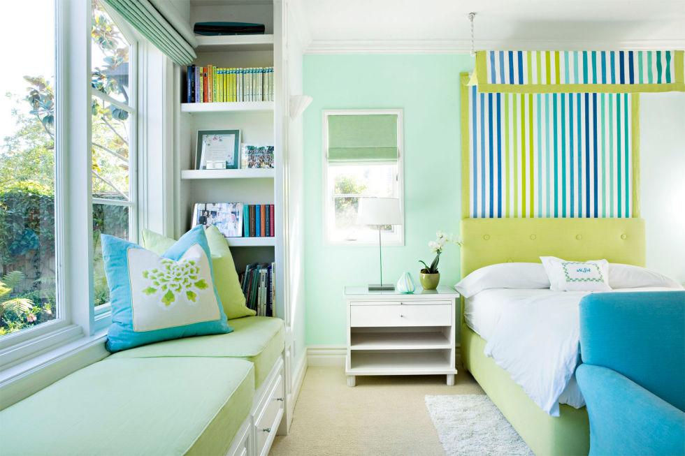 xuc cam khong ngo chi nho nhung phong ngu day mau sac 831a24f049 Xuân tới với những không gian phòng ngủ đầy màu sắc