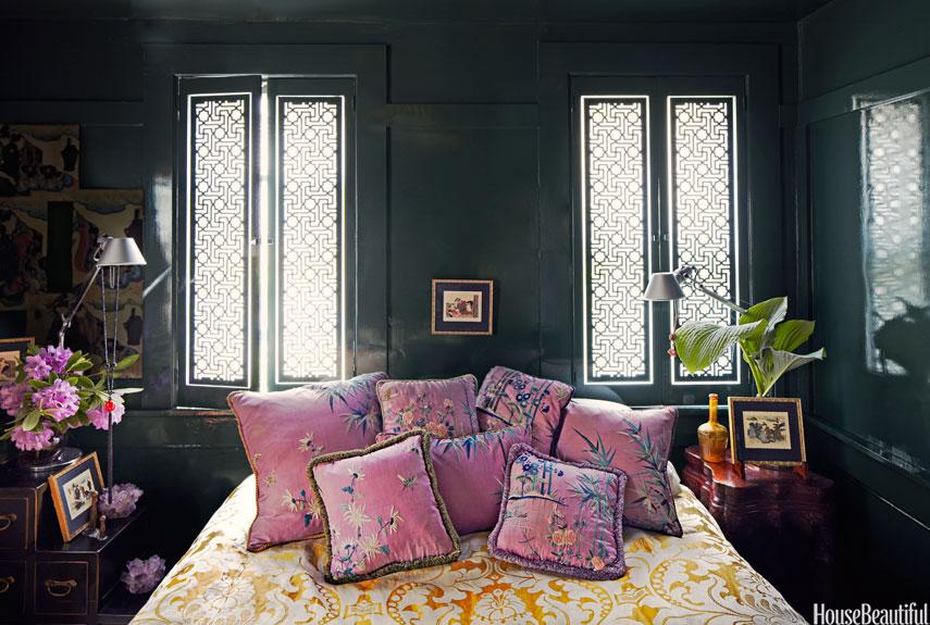 xuc cam khong ngo chi nho nhung phong ngu day mau sac a224ec8562 Xuân tới với những không gian phòng ngủ đầy màu sắc