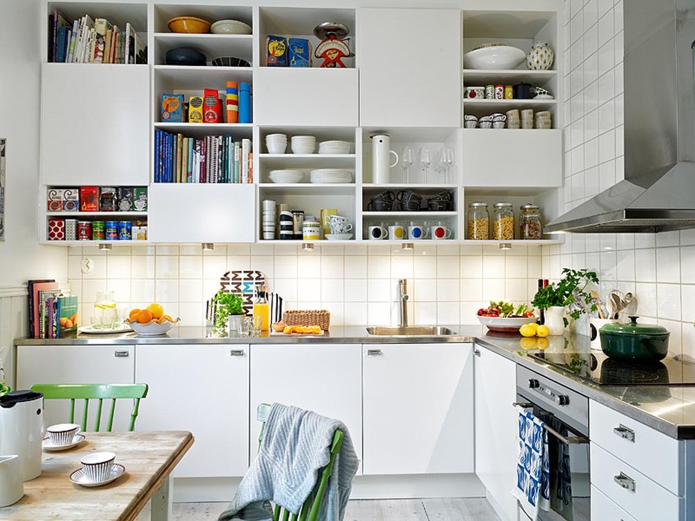 ý tưởng cho bếp chật hẹp
