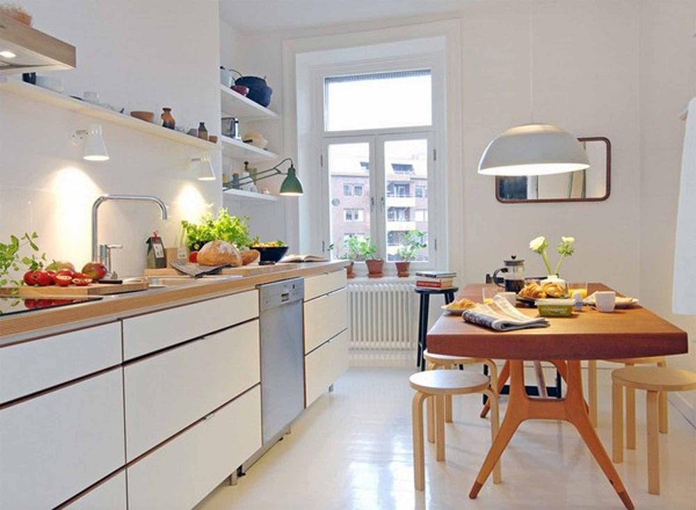 ý tưởng cho bếp chật hẹp 9