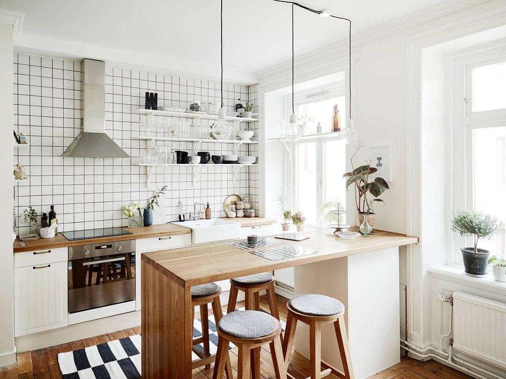 ý tưởng cho bếp chật hẹp 3