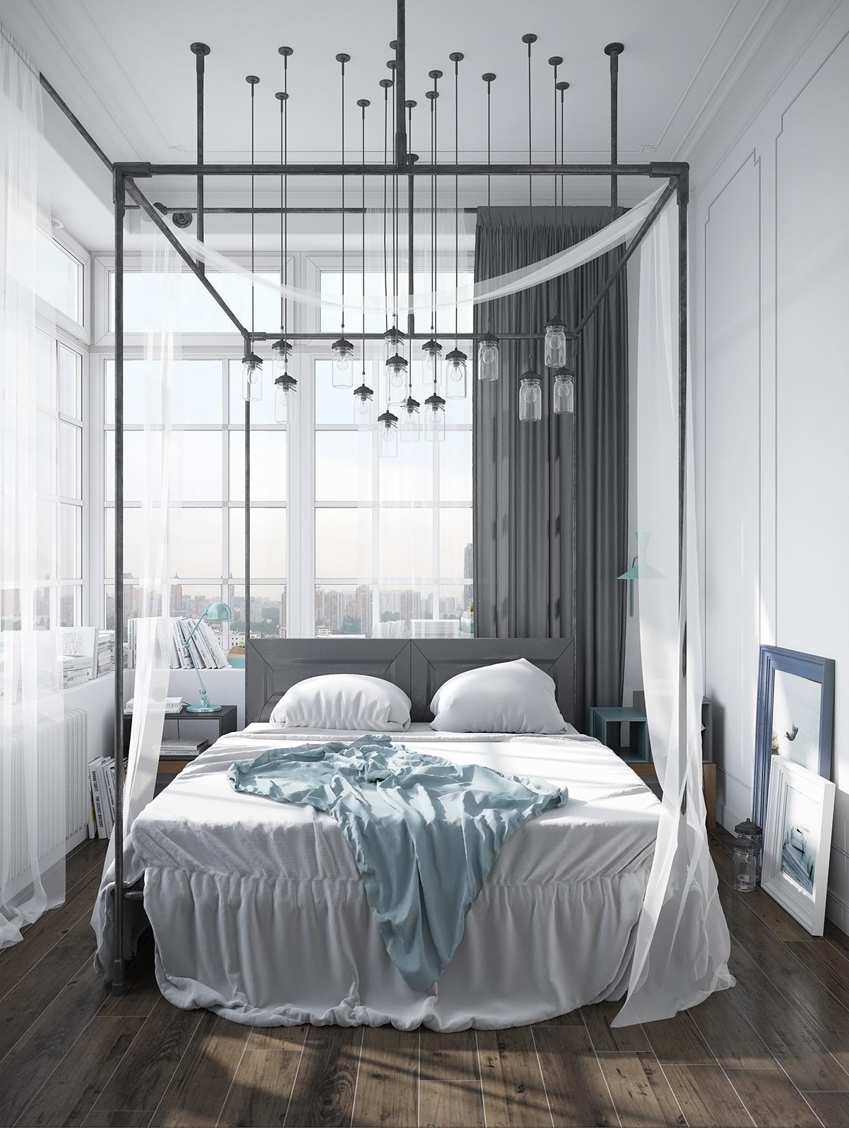 Chambre scandinave deco: tendance déco graphik pastel. chambre ...