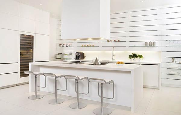 Quầy bar tiện dụng cho phòng bếp thêm xinh