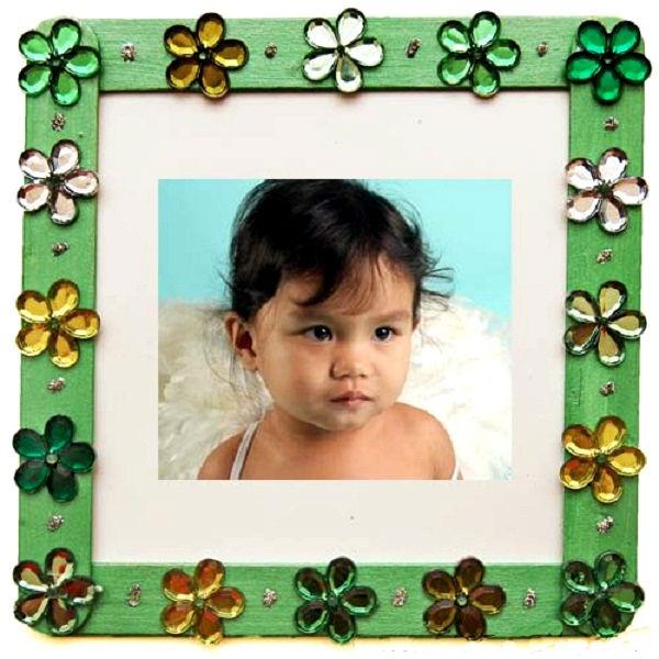 6 kiểu trang trí khung ảnh dễ thương cho bé