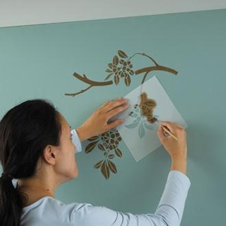 4 bước đơn giản tự vẽ tranh trang trí tường