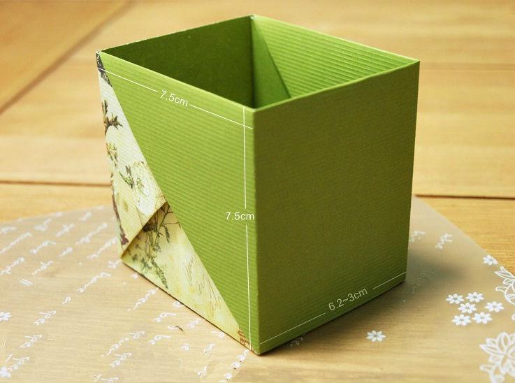 Gấp hộp đựng đồ nhanh chóng và tiện dụng