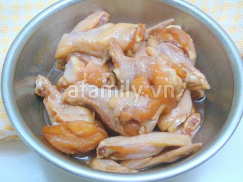 Thêm một cách làm cánh gà nướng nhanh, ngon