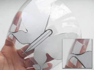 Cánh bướm xinh xắn tái chế từ vỏ chai nhựa 2