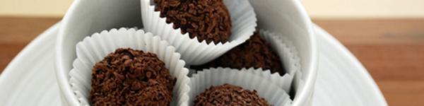 Chocolate truffle hai lớp cực hấp dẫn