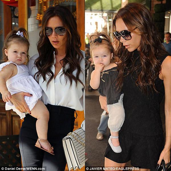 Con gái của Victoria Beckham có kiểu tóc mới