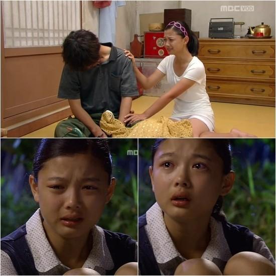 Diễn viên nhí làm màn ảnh Hàn ngập nước mắt