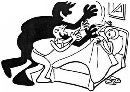 Vợ bị trộm hãm hiếp, chồng ngủ không biết gì