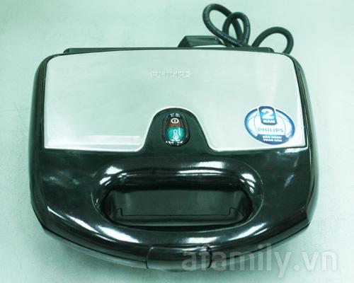 Đánh giá: Máy nướng bánh Sandwich Philips HD-2383