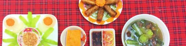 Mẹ Su chia sẻ thực đơn cuối tuần ngon đẹp hấp dẫn