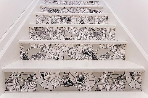 trangtricauthang14 d4d00 Bí quyết trang trí cầu thang tạo điểm nhấn cho ngôi nhà