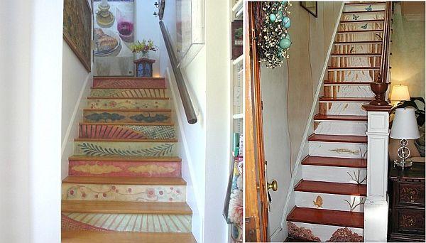 trangtricauthang17 8451c Bí quyết trang trí cầu thang tạo điểm nhấn cho ngôi nhà