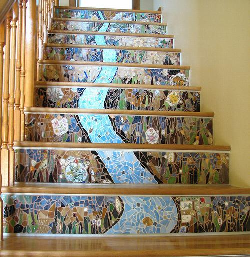 trangtricauthang4 25852 Bí quyết trang trí cầu thang tạo điểm nhấn cho ngôi nhà
