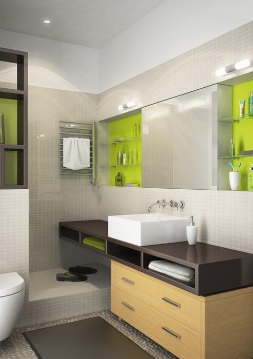 B i tr ph ng t m 4m2 sang tr ng tho ng ng for Luminosite salle de bain sans fenetre