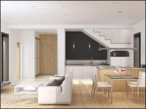 imagegallery 61a1d Những mẫu phòng khách kết hợp với phòng ăn đẹp mắt