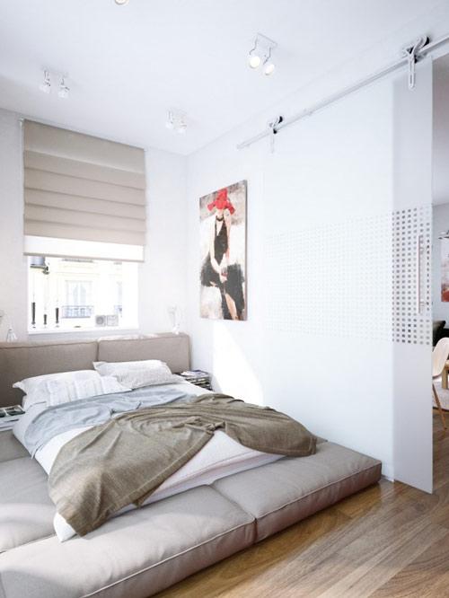khonggiandep4 bffc0 Gới ý cho bạn những kiểu trang trí căn hộ xinh xắn cho vợ chồng trẻ