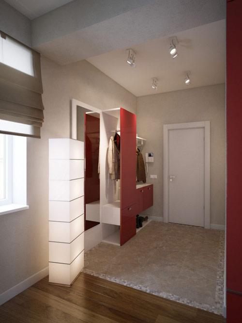 khonggiandep5 34bf9 Gới ý cho bạn những kiểu trang trí căn hộ xinh xắn cho vợ chồng trẻ