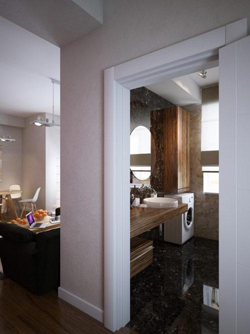khonggiandep6 3bc5d Gới ý cho bạn những kiểu trang trí căn hộ xinh xắn cho vợ chồng trẻ