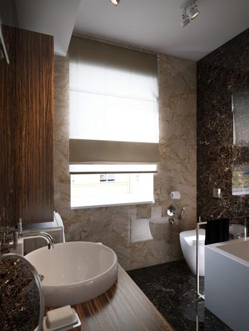 khonggiandep7 b6ace Gới ý cho bạn những kiểu trang trí căn hộ xinh xắn cho vợ chồng trẻ