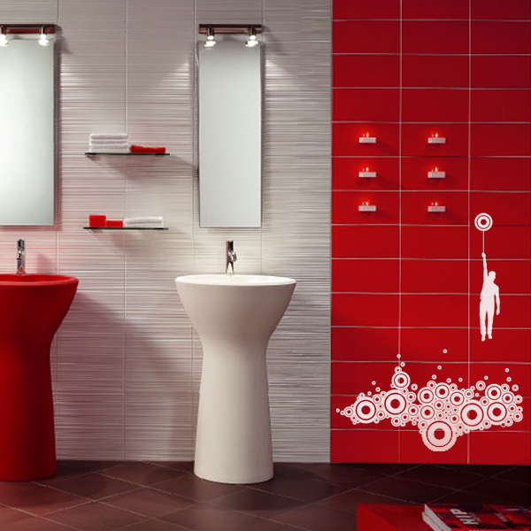 decorettostickersinbathroom4 96ff4 Ngôi nhà của bạn sẽ trở nên bắt mắt hơn với sticker dán tường