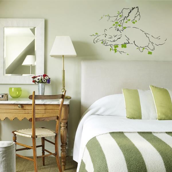 decorettostickersinbedroom2 91249 Ngôi nhà của bạn sẽ trở nên bắt mắt hơn với sticker dán tường