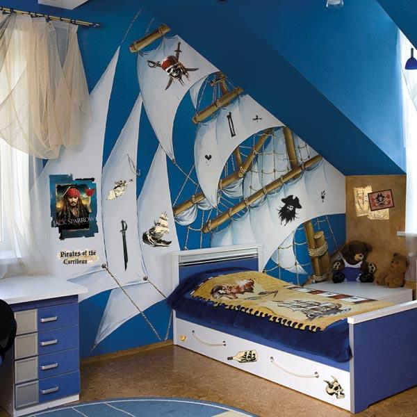 decorettostickersinkidsroom11 df91e Ngôi nhà của bạn sẽ trở nên bắt mắt hơn với sticker dán tường