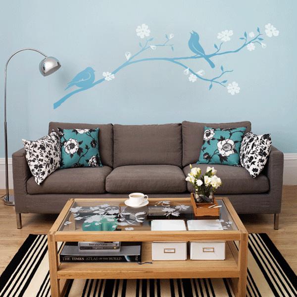 decorettostickersinlivingroom11 7aecf Ngôi nhà của bạn sẽ trở nên bắt mắt hơn với sticker dán tường